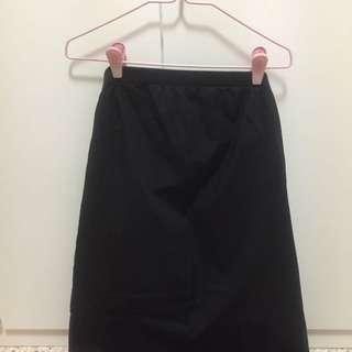 Black Versatile Skirt/ Tube Dress