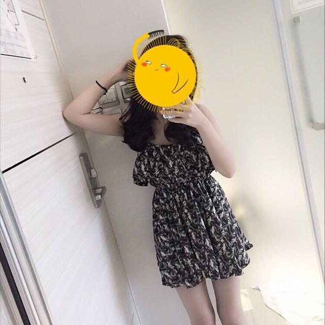 春夏黑色小洋裝