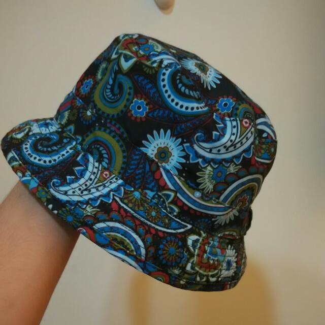 雙色漁夫帽