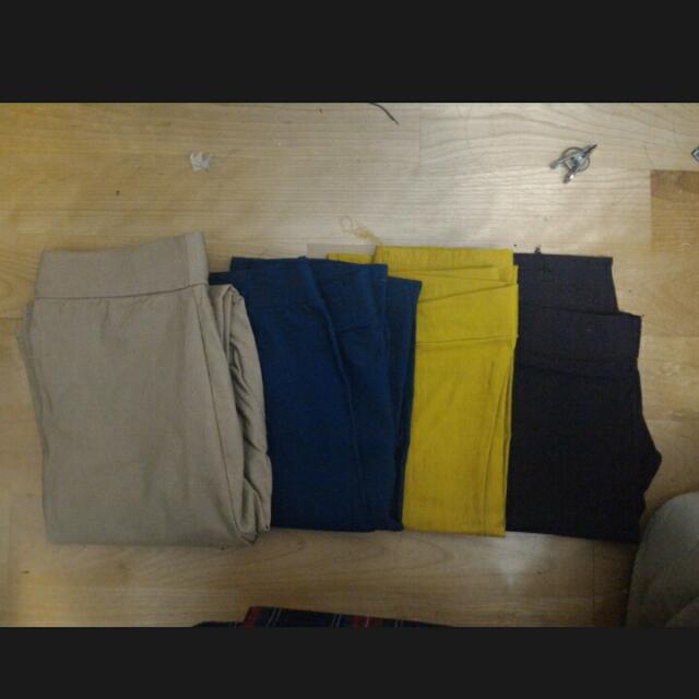 多色仔褲👉四件全帶700💕💕