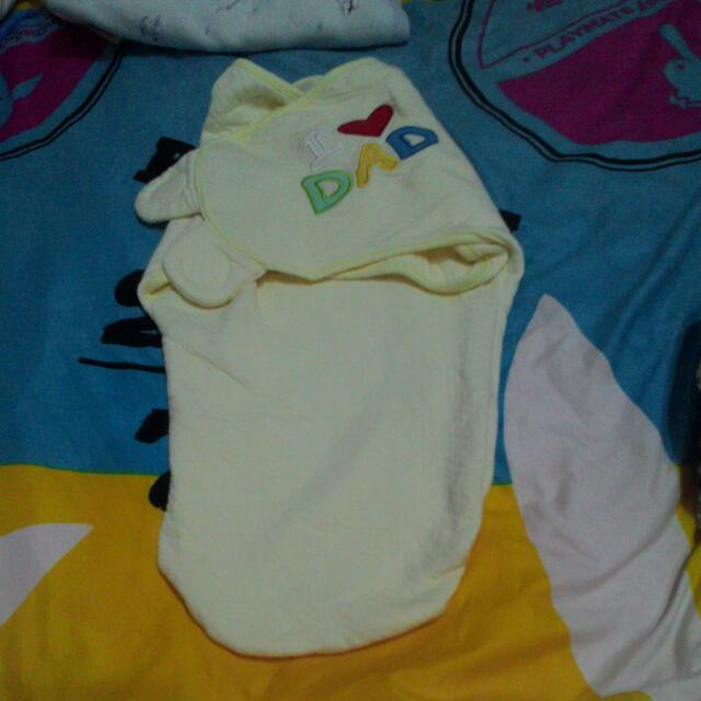 懶人用包巾  九成新  黃色下標區