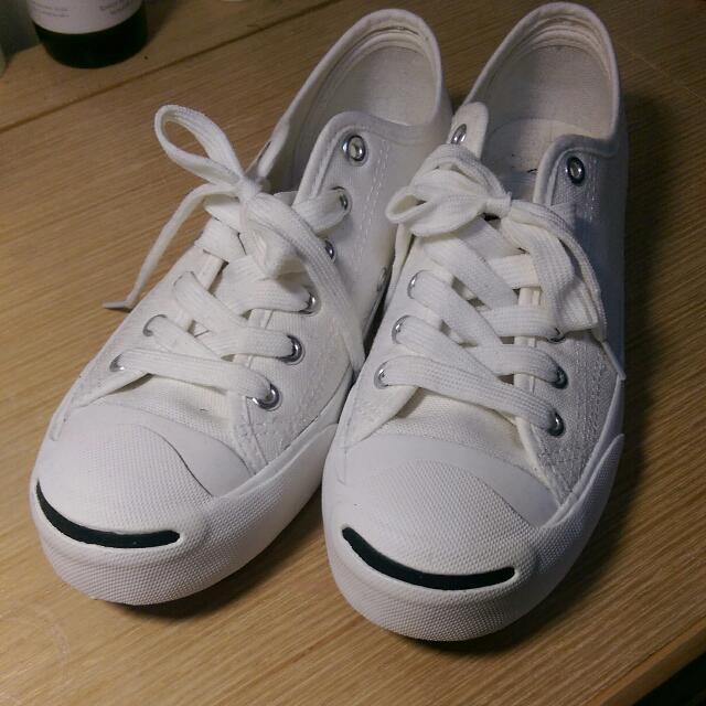 大特價 最後一雙 白色帆布鞋