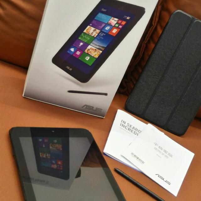 華碩 九成新 Windows 8.1 八吋手寫平板 四核心 Vivotab Note 8 (Z3740/64G/Win8.1)