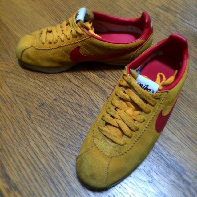 Nike 阿甘復古雞皮鞋