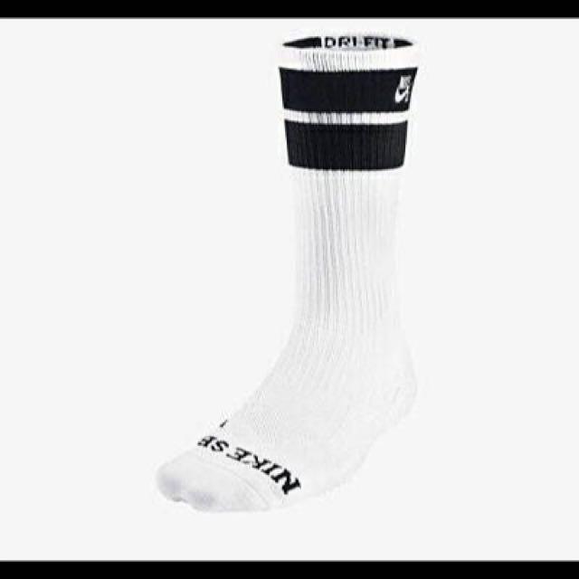 Nike Sb 長襪 黑/白 白/黑