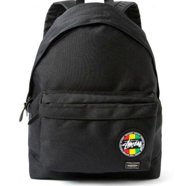 Stussy x Porter 聯名款後背包(登山包、雙肩包、旅行包)
