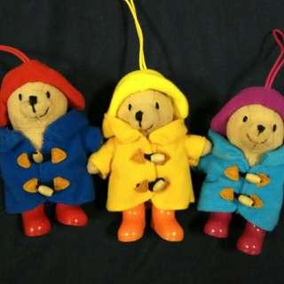 全新柏靈頓熊 三隻一起賣