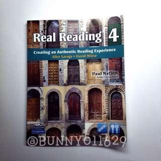 【二手】英文 課本 Real Reading 4
