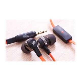 JBL J22a-h 專屬專業版耳機/帶線控麥克風/耳道入耳式/扁線/原廠盒裝