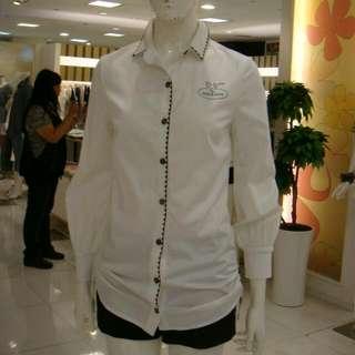 專櫃   造型長版長袖襯衫