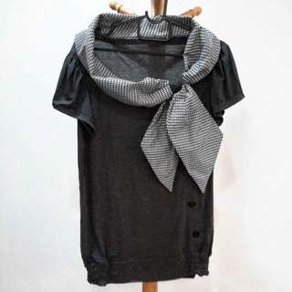 Brand New Dark Grey Blouse
