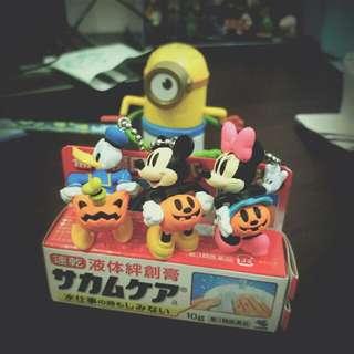 迪士尼🌟萬聖節扭蛋吊飾