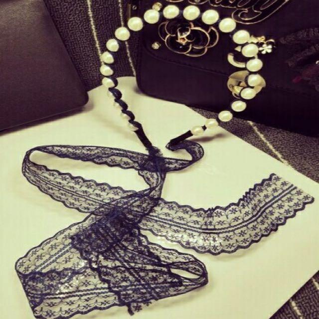 珍珠蕾絲髮帶髮箍