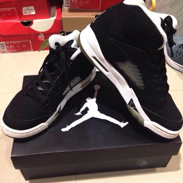 Air Jordan5 Oreo5代 可議