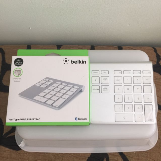 27c46b116ec belkin YourType WIRELESS NUMERIC KEYPAD, Electronics on Carousell