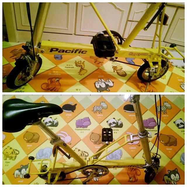 carryme折疊腳踏車