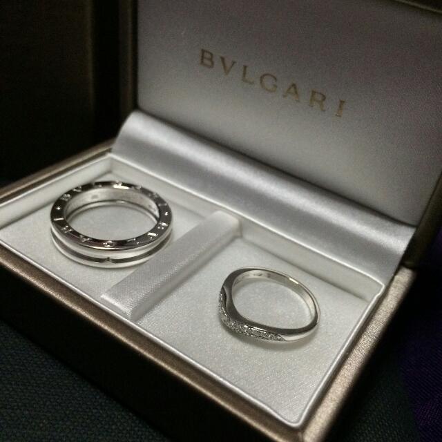 Fast Deal Bvlgari Bulgari Ring Wedding Band Brand New Luxury On