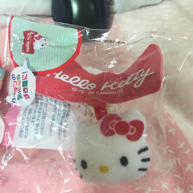 Hello Kitty 造型窗簾夾
