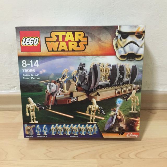 Lego - Star Wars, Battle Droid Troop Carrier, Design & Craft on ...