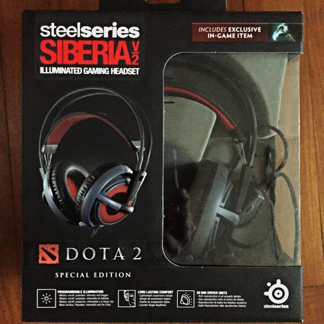 Steelseries Siberia Dota 2