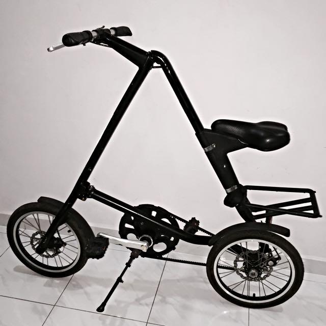 a33eaf5d5bb Strida 5.0 Folding Bicycle (A-Bike), Sports on Carousell