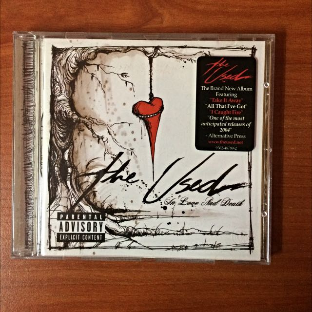 The Used - In Love And Death CD