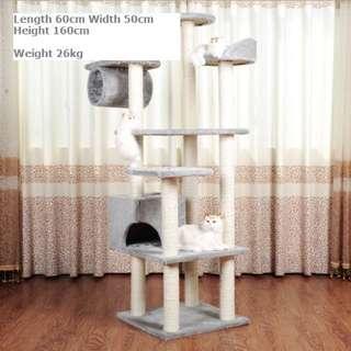 Large 7-Tier Cat Climbing Tree / Playhouse / Cat Condo