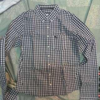 a&f長袖襯衫