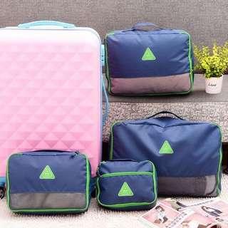 衣物收納袋【Allen小舖】防水耐用超大容量手提衣物收納袋(4件套)