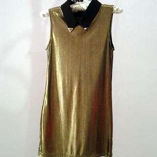 😜Smexy Classy Gold Dress