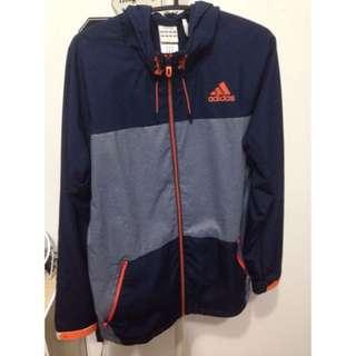 Adidas 秋季運動風外套 S 號