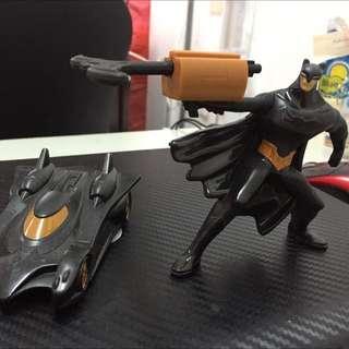 Batman & Batmoblie