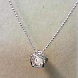 摟空珍珠設計短鍊
