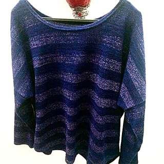 Glitter Top (purple)