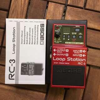 Boss RC-3 Loop Guitar Pedal