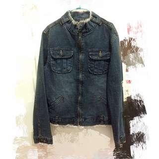 衣櫃出清-全新-韓國牛仔外套