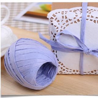 拉菲草繩( 包裝繩 點心裝飾帶 餅乾 喜糖包裝 緞帶 DIY)