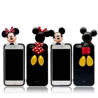 [預購]迪士尼 手機殼 米奇 米妮 Iphone6 Plus 6s 立體