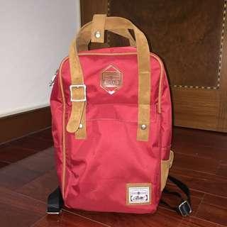 Rite 紅色後背包 2014版本(含運)