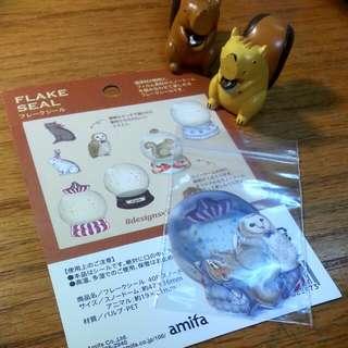 貼紙×amifa貼紙包