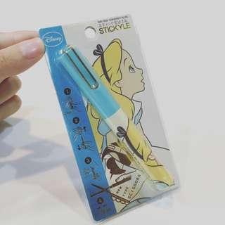 sun-star 迪士尼公主 筆型攜帶式剪刀 愛麗絲Alice