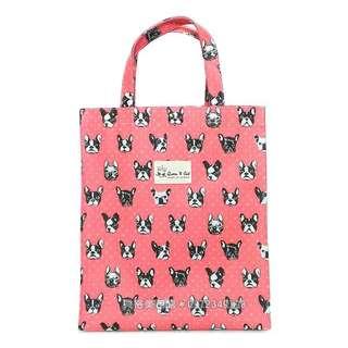 大直立 ZAKKA 法鬥 狗頭 Crystal ball 手工防水包 野餐袋 購物袋 便當袋 補習袋 可裝A4
