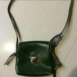 墨綠 小包包 側背 包包 ✔一律加line詢問唷