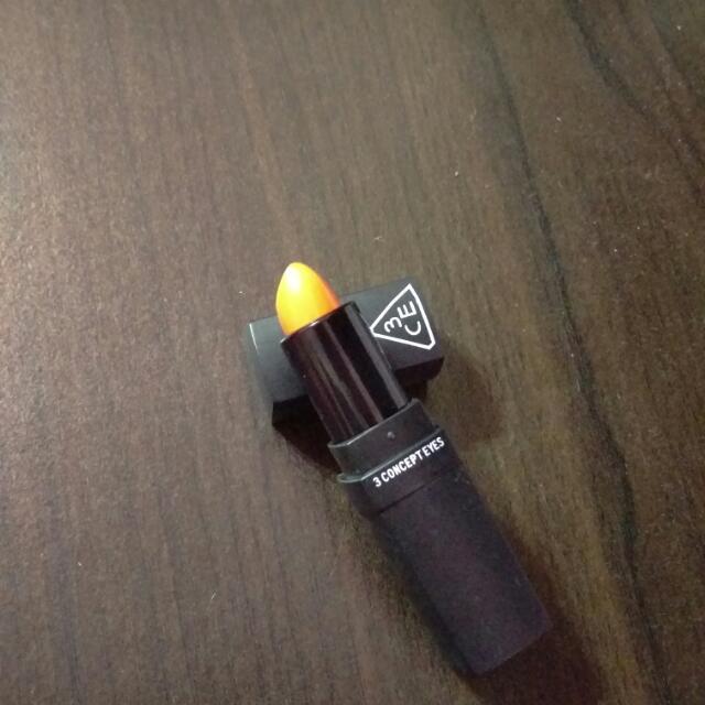 3CE唇膏(顏色第二張比較準)
