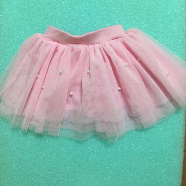 女寶粉色紗裙-5號