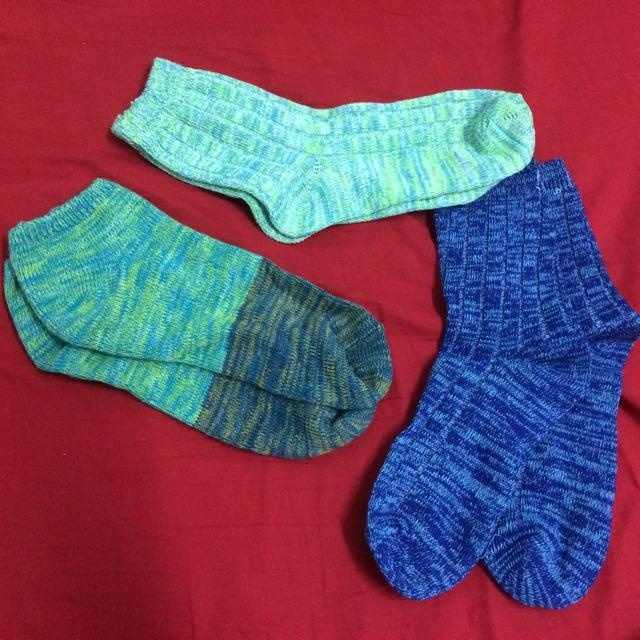 混色針織襪(日本帶回)