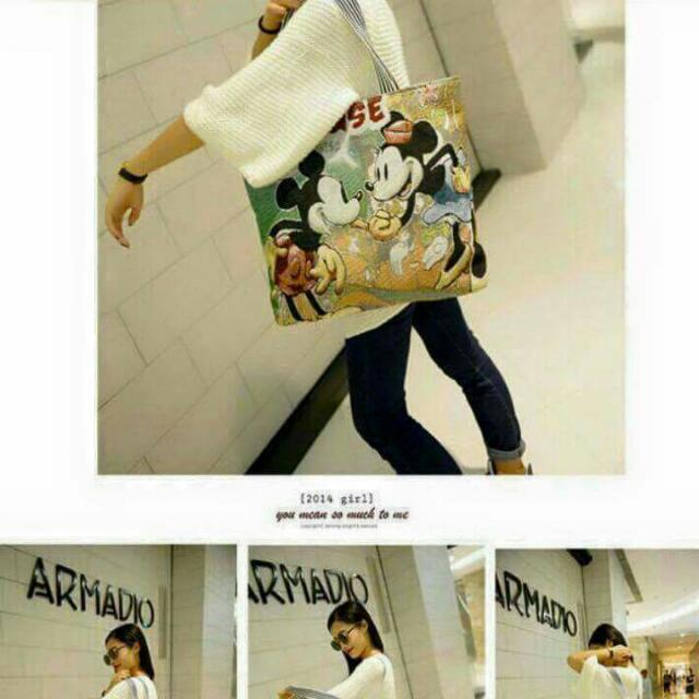 米奇大購物袋