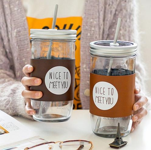 咖啡玻璃杯(梅森杯) 水杯