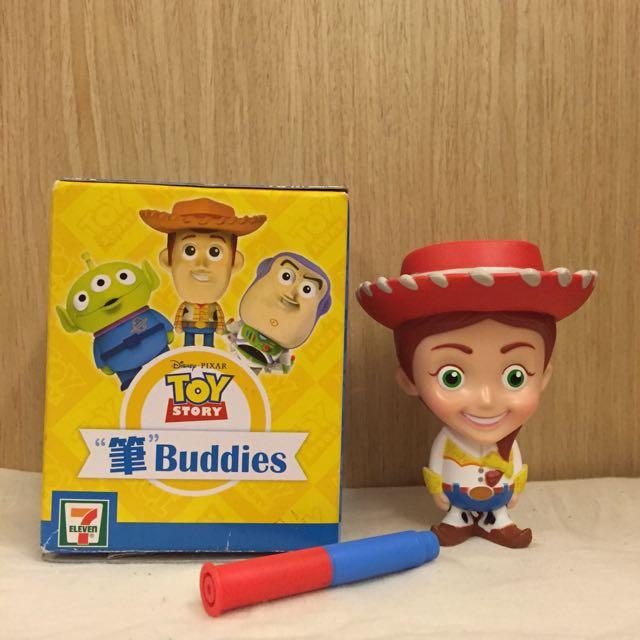香港 7-11 迪士尼x皮克斯 筆 Buddies 公仔/玩具總動員 翠絲