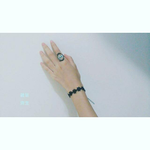 ❁ 黑雛菊手鍊 ❁